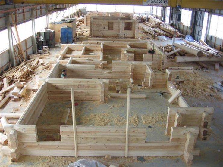 Handgemachte blockh user holzh user und blockh user for Case di tronchi di blocchi di legno